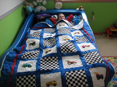 Timmy S Quilt For A 4 Year Old Boy
